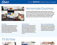 Oster Yogurt A+ Page