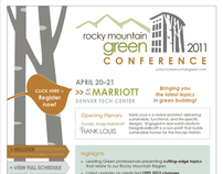 2011 Rocky Mountain Green Flyer Design
