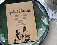 Wedding Invitations (Josh & Hannah)