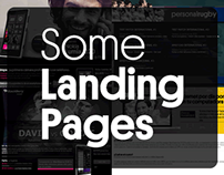 Some Landing Pages