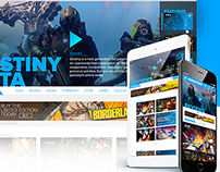ScrewAttack Website Redesign