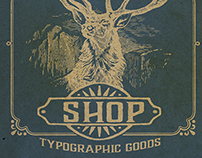 The Type Hunter Shop Promo Badge