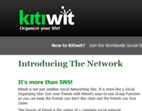 Kitiwit Social Networking Service