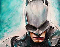 BATMAN  arkham knight (ECOLIN)