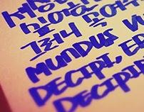 Calligraphy 캘리그라피 3