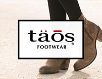 Taos Footwear Ecommerce  Platform