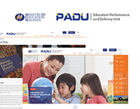 Redesign Website PADU & Ministry of education malaysia