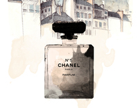 Chanel Scent Sheet
