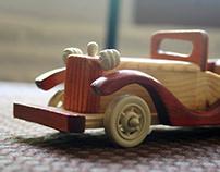 WOODY CARS - Dinky Cars
