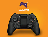 Zoomy Landing Page