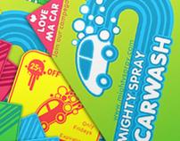 Mighty Spray Car-wash Campaign