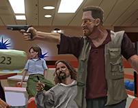 The Big Lebowski, Movie still study