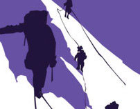 Digital illustration for book cover