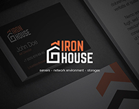 IronHouse. Corporate Identity.