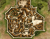 Expanded Map of Fantasy Village
