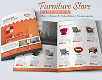Furniture Store Brochure Design
