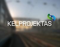 KELPROJEKTAS company logotype, brandbook.