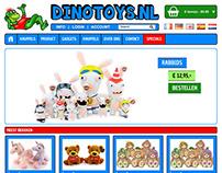 Webshop Dinotoys.nl (responsive)