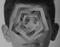 Geometric portraiture