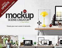 Mockup Scene Creator - Desk edition