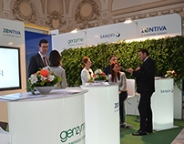 Sanofi Interactive Exhibition Stand