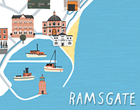Ramsgate map print