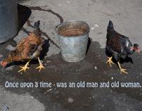Жили - были старик со старухой.