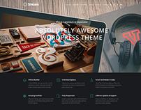 Stream – One Page Multi purpose WordPress Theme