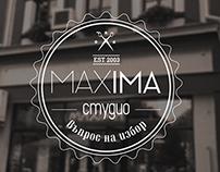 studio MAXIMA rebranding