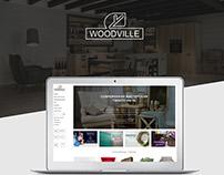 Woodville - warm e-commerce design