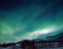 Aurora Borealis / analog