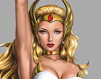 She-Ra Princess of Power 30Th Anniversary Standee