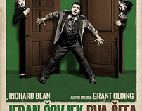 """""""One Man Two Guvnors"""" Theater play"""