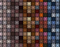 squares background vector art