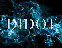 Didot Typeface Specimen