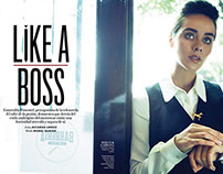 Like a Boss - InStyle Magazine