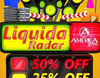 Liquida Radar América jeans