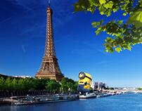 Миньон в Париже