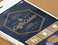 Caffè Caldo | Concept Brand & iOS App