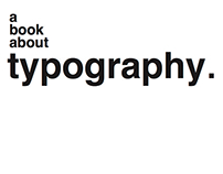a book about typography