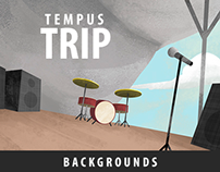 Tempus Trip backgrounds