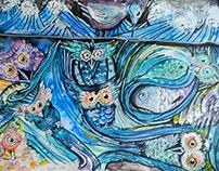 Sueño con Búhos bajo el Mar