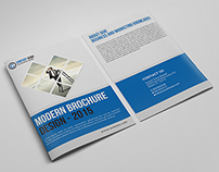 Corporate Bifold Business Brochure Free Download