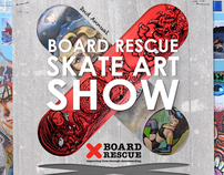 2nd Annual Board Rescue Skate Art Show