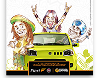 Illustrations and Art Direction: Camarote Fiori Fiat