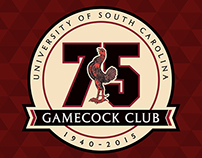 South Carolina Gamecock Club 75th Anniversary