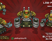 Blitztank - Polycount Riot Games 2014 Art Contest