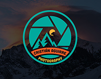 Cristian Aguirre Photography Redesign Logo