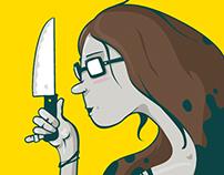 El mundo vs el cuchillo filoso de Sofía