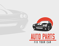 Car Parts Logo Template